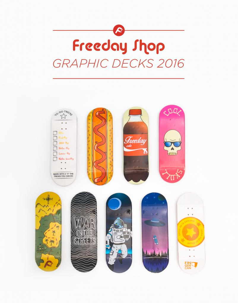 Graphic Decks Freeday Shop 2016