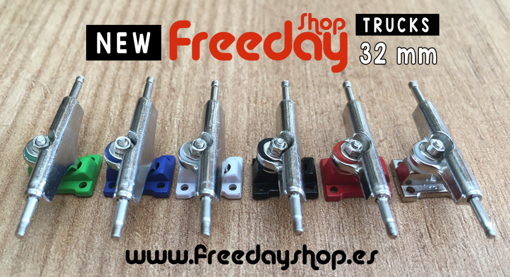 New Freeday Trucks 32mm